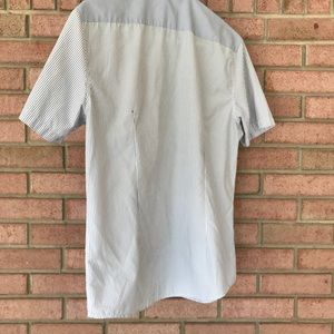 polo villae Shirts - Polo Villae Striped Short Sleeve Shirt f338116aaa
